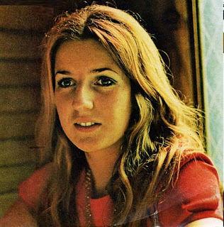 Ivana Spagna as she was in 1969