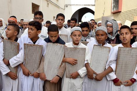 الوطنية 24....المغاربة يطلبون الغيث بالأطفال .. وسماء المملكة تتمخض عن أمطار