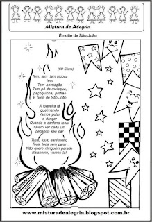 Atividades festa junina poema