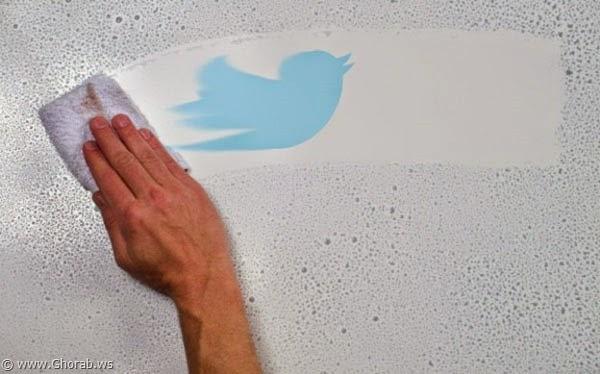 لحذف تغريدات تويتر
