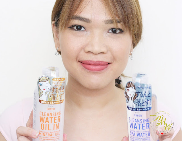 a photo of Kracie Kreer Cleansing Water and Cleansing Water Oil In Askmewhats