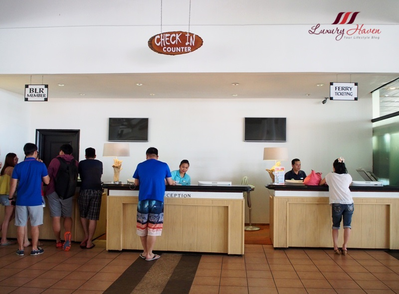 indonesia island bintan lagoon resort check in counter