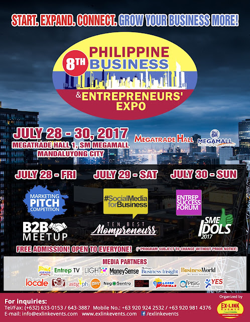 Various activities in store for everyone at PBEX 2017 this July