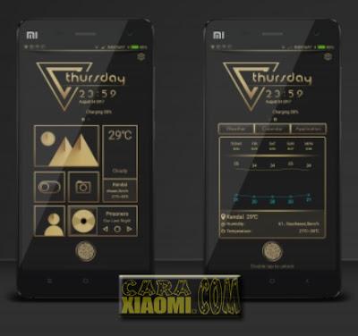 Download MIUI Theme Goldon 999 Mtz For Xiaomi V9 Themes
