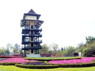Taman dengan ribuan jenis bunga ini sangat ideal untuk menjadi review tempat wisata yang menarik. Taman bunga Nusantara adalah salah satu taman terbesar di Indonesia