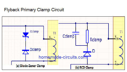 flyback primary clamp circuit