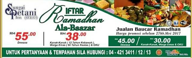 Senarai Buffet Ramadhan 2017 Di Kedah