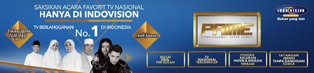 Promo Paket Indovision Prime Terbaru