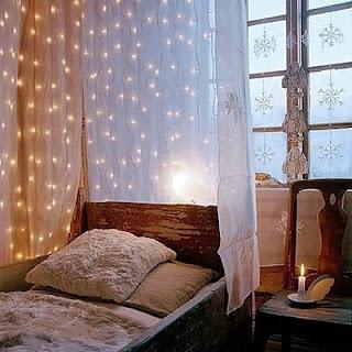 string light for bedroom design ideas