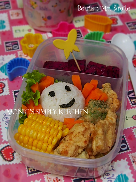resep sederhana bento mr smile