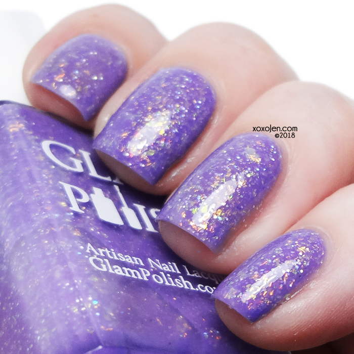 xoxoJen's swatch of Glam Polish E Komo Mai
