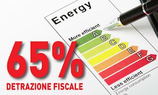 Ecobonus 2013 detrazioni al 65%