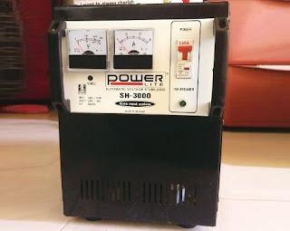 Darmatek Jual POWERLITE SH-3000 Analog Stabilizer