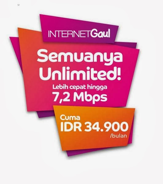 Paket Internet Gaul Axis