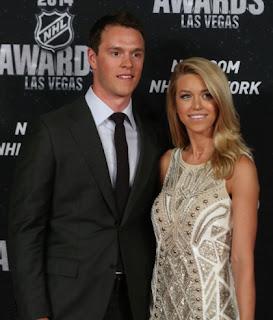 Jonathan Toews and Future Wife Lindsey Vecchino