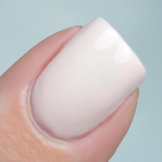 pale pink creme nail polish