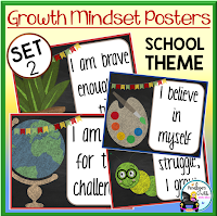 Growth Mindset School Set 2