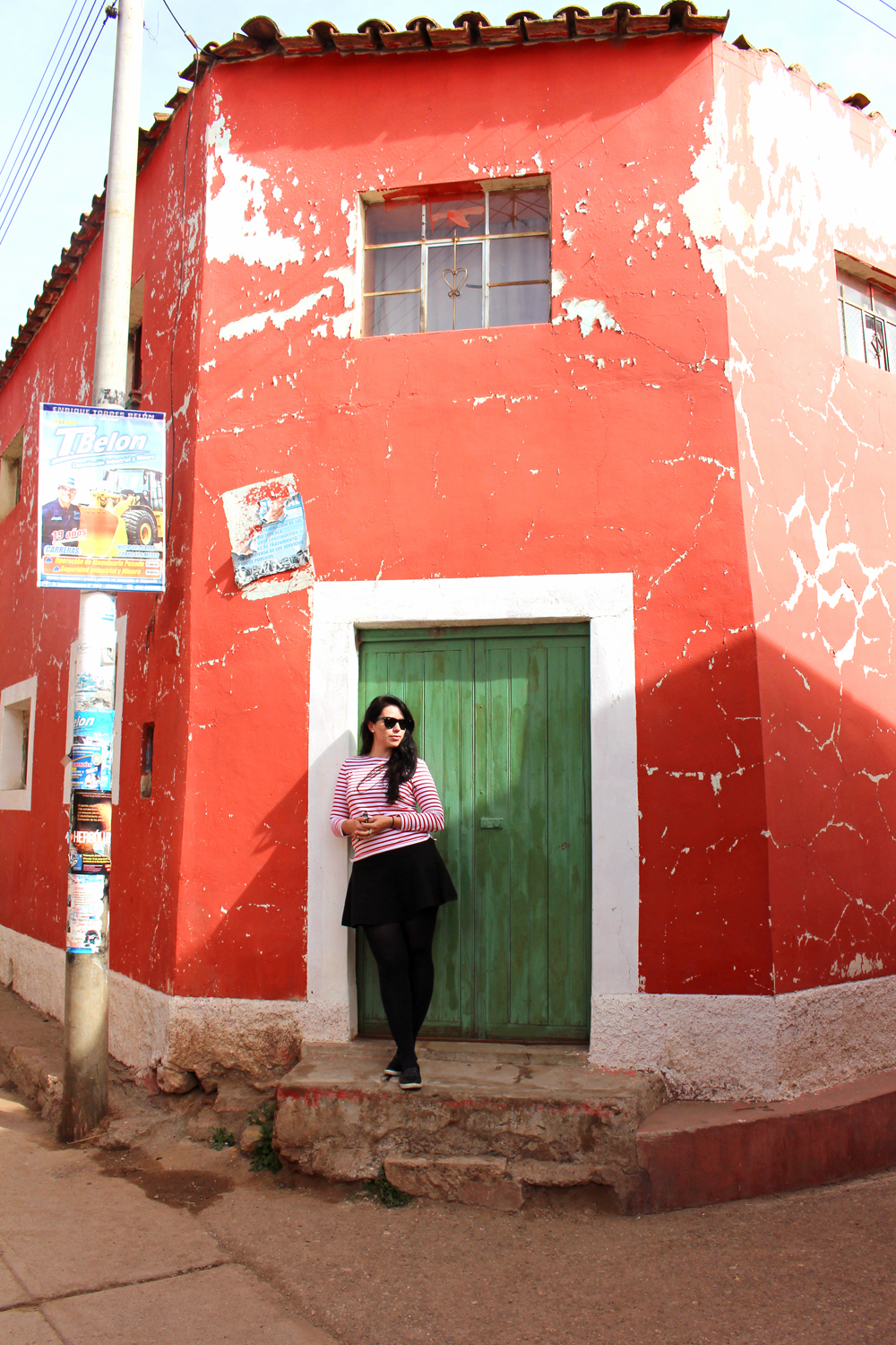 Colourful buildings in Pucara, Peru - travel & culture blog