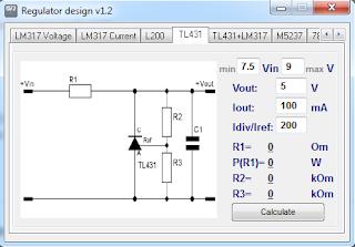 Screensshot 4 : Regulator Design