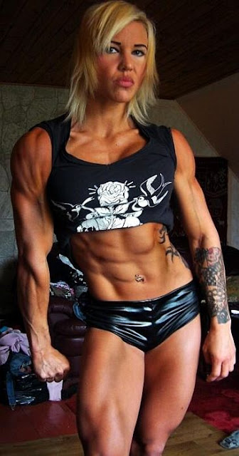 Heidi Vuorela - Muscle Fitness Women