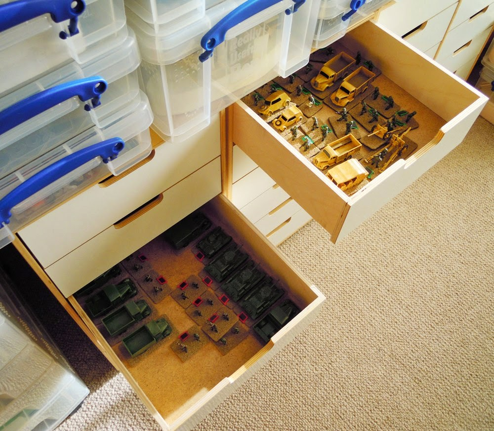 Wargaming Miscellany Storage
