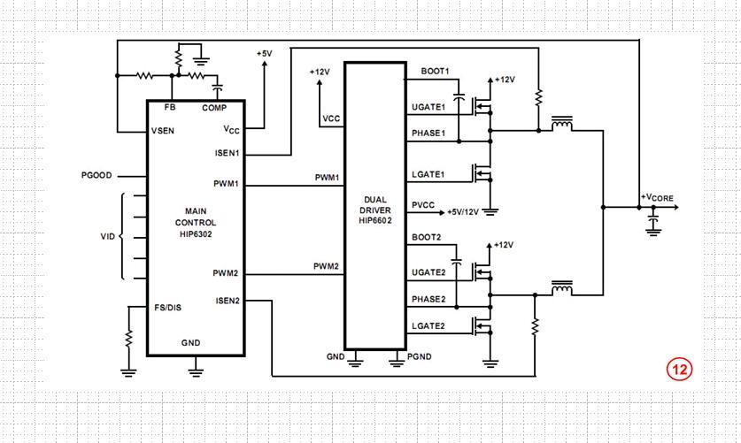 4. Map of the actual circuit principle:
