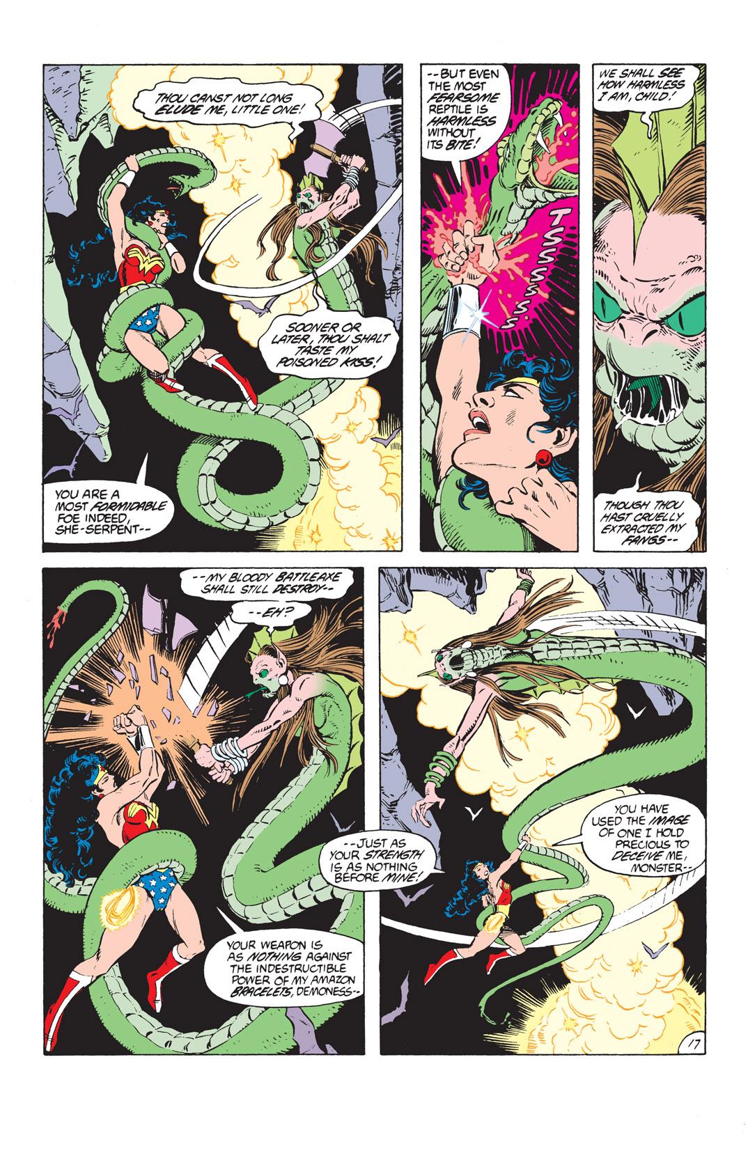 Read online Wonder Woman (1987) comic -  Issue #11 - 17
