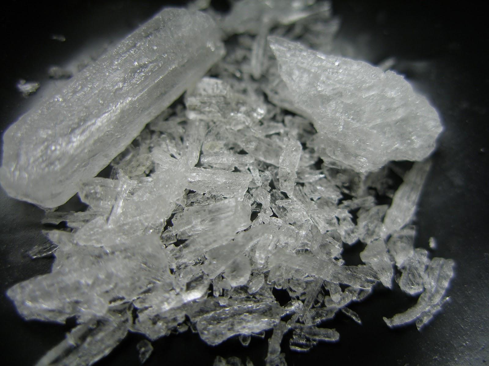 覚醒剤:メタンフェタミン/クリスタル・メス