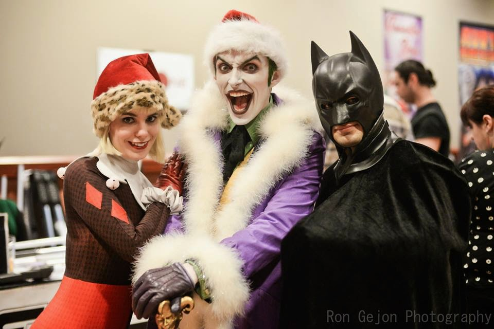 Ron Gejon Photography - Joker, Harley, and Batman Cosplay