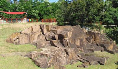 pedra parque rocha moutonnée