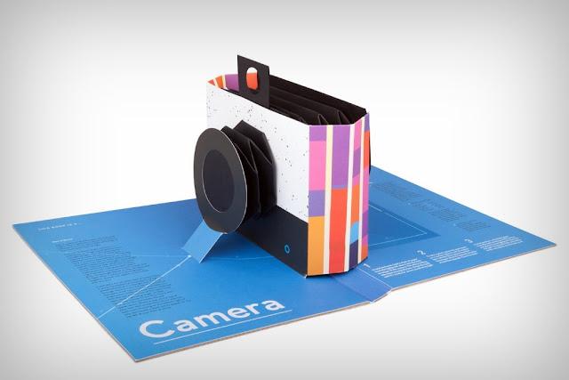 Kamera Terbuat Dari Buku