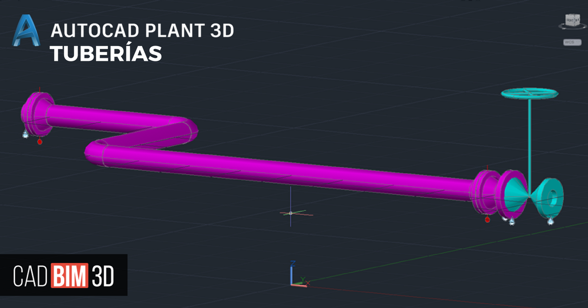 Acerca del ruteado de tuberías en AutoCAD Plant 3D - cadBIM3D