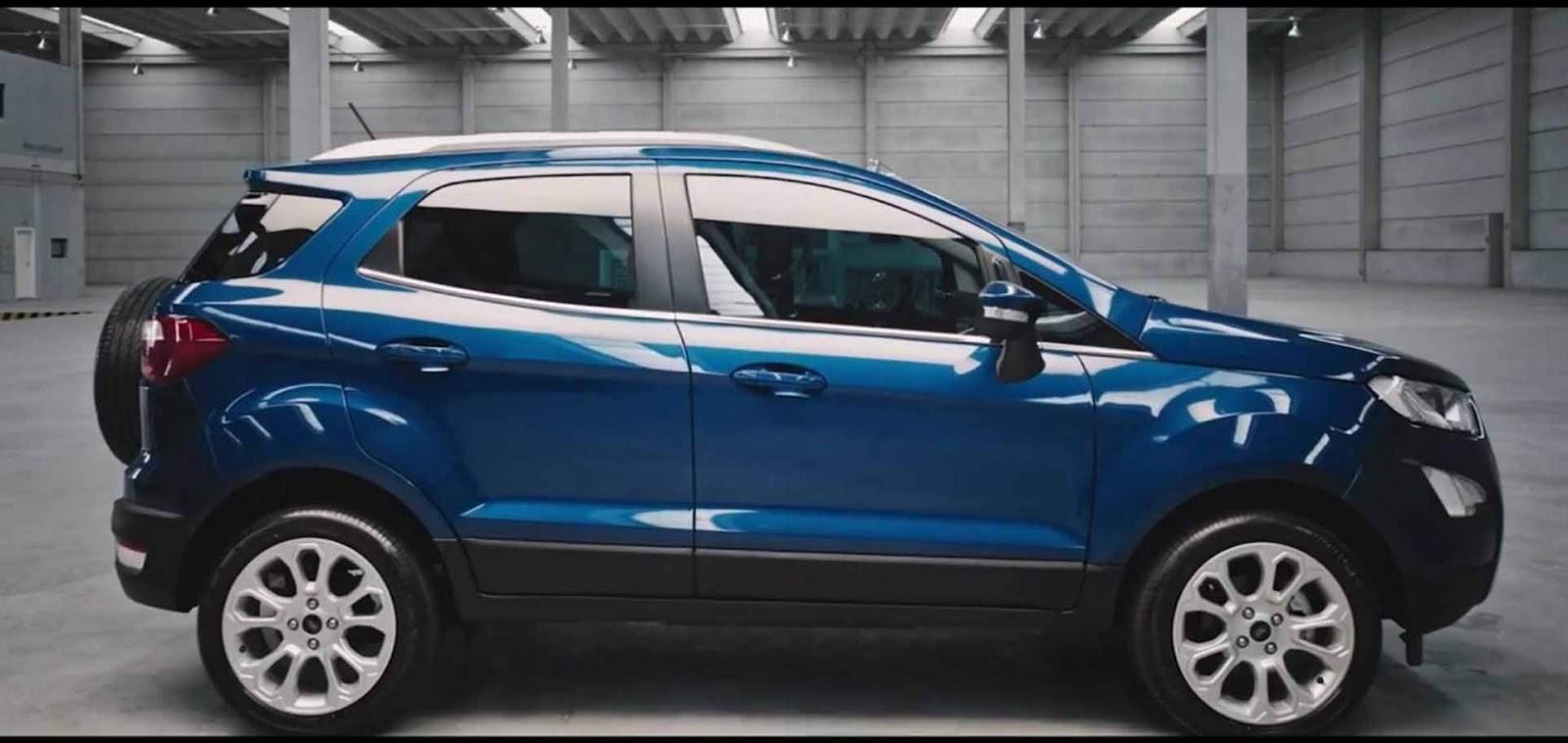 Novo Ford Ecosport 2018 Teaser Oficial Mostra Detalhes