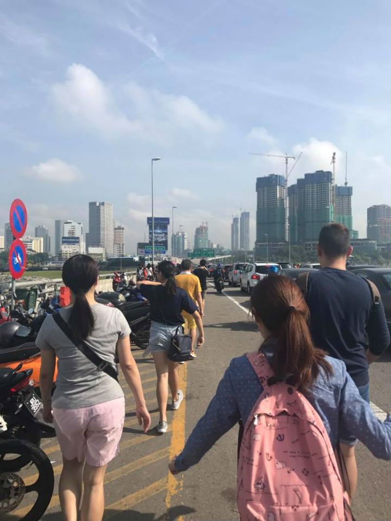 Singapore Johor Bahru Bridge
