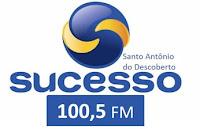 Rádio Sucesso FM 100,5 de Santo Antônio do Descoberto GO