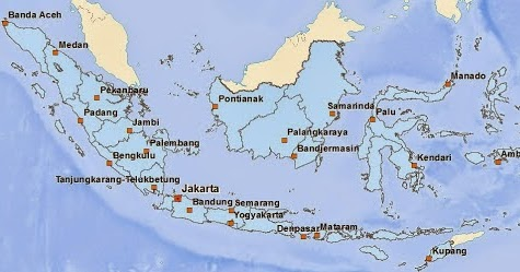 Download Peta Indonesia Basis Desa Dalam Format Shapefile