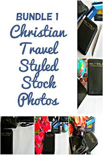 Bundle 1 Christian Travel Styled Stock Photos