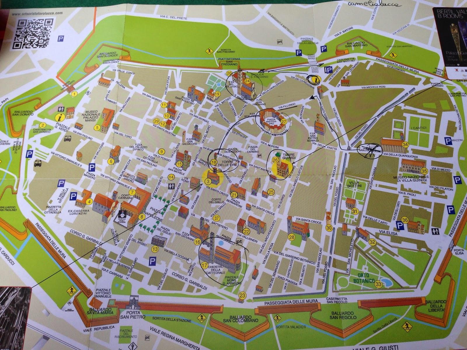 lucca kart Mstraveltipsy : Lucca   Travel Tips / Reisetips lucca kart