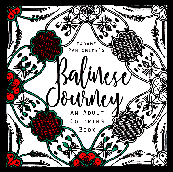 Flip Through Video Of My New Adult Coloring Book Balinese Journey