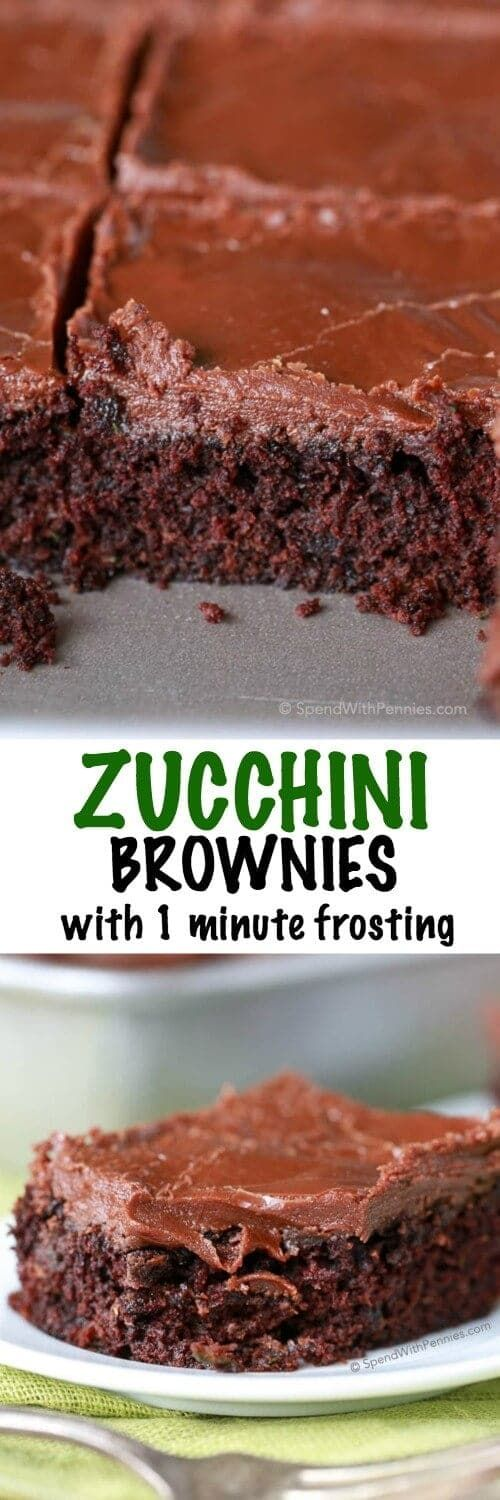 Easy Zucchini Brownies Recipe