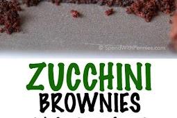 Easy Zucchini Brownies Recipe