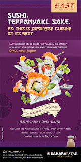 Sushi and Teppanyaki Food Festival at Hotel Sahara Star!