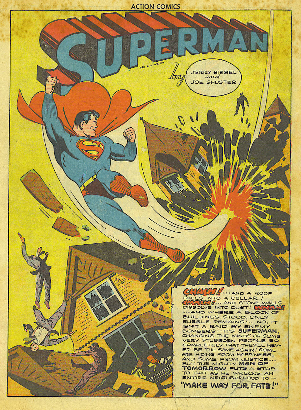 Read online Action Comics (1938) comic -  Issue #67 - 3