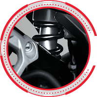 Rear Monoshock SONIC 150R SPESIAL EDITION 2018 Sejahtera Mulia Cirebon