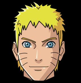 Gambar Mentahan Kepala Naruto Dan Kawan Kawan Png Grafis Media