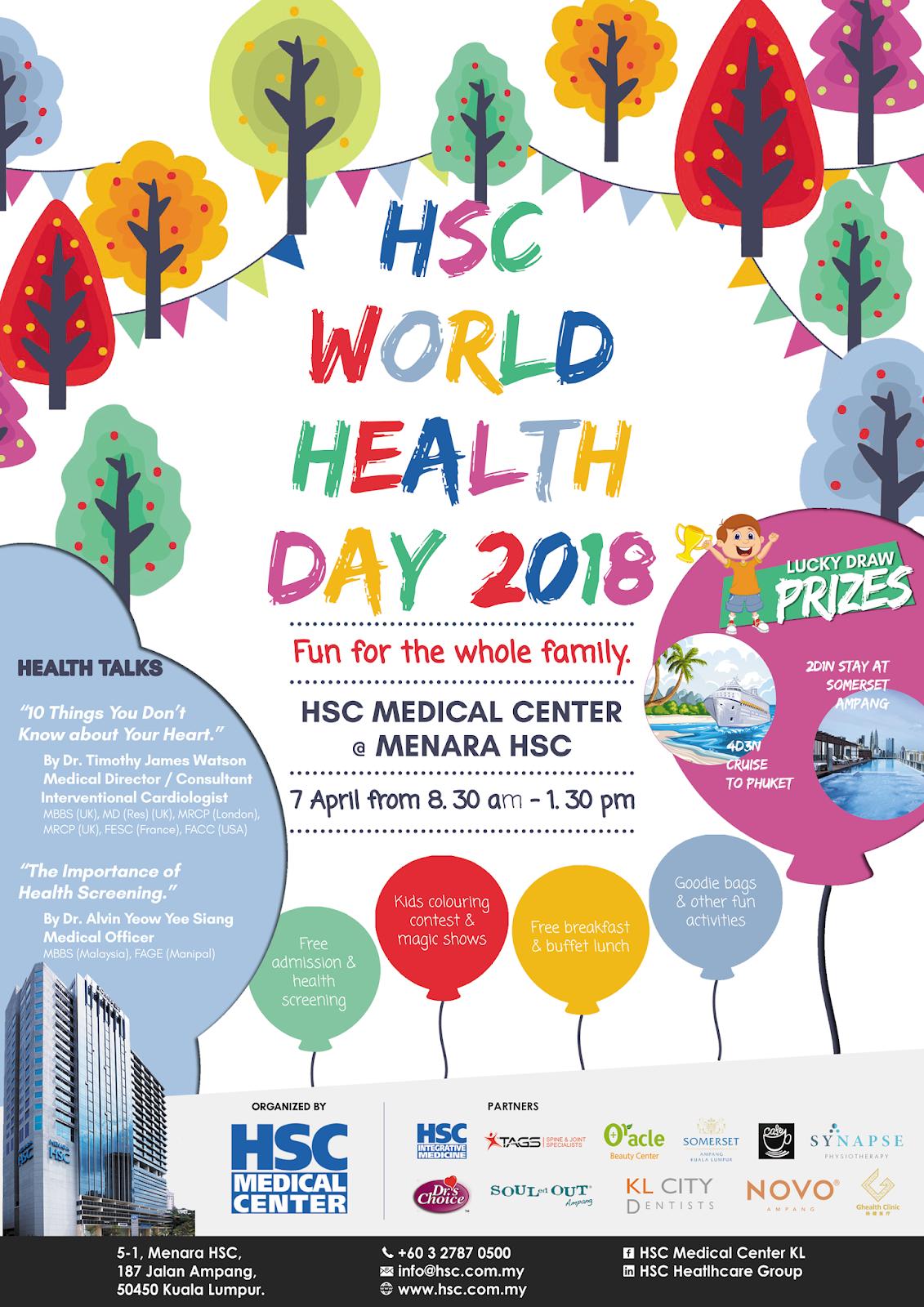 Hsc World Health Day Menara Hsc Kuala Lumpur