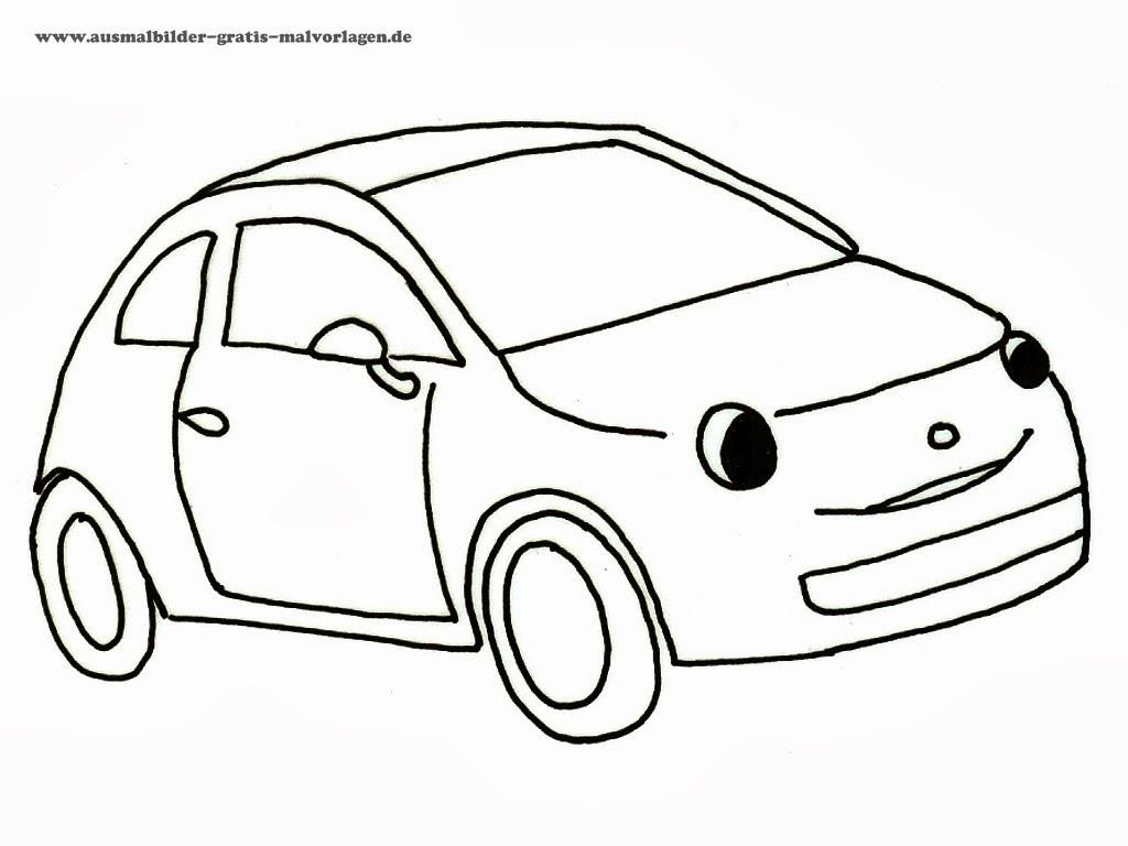 auto malvorlagen