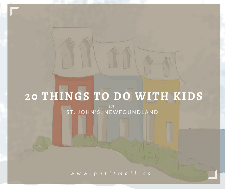 Fun things to do with kids in St. John's