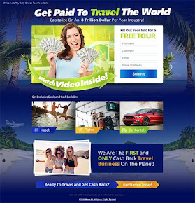 TRAVEL THE WORLD AND GET PAID