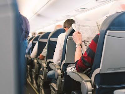 Gawat! Duduk Terlalu Lama di Kursi Pesawat Bisa Sebabkan Aliran Darah ke Paru-paru Terganggu